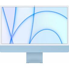 Apple iMac 24 4.5K Retina M1 8C CPU 7C GPU 8GB 256GB SSD Blue RUS MJV93RU