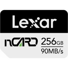 Lexar nCARD NM Card 256GB 90MB/s read 70MB/s write (LNCARD256G-BNNNG)