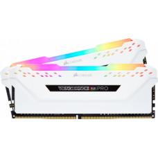 Corsair VENGEANCE RGB PRO 16GB (2x8GB) DDR4 3200MHz C16 Memory Kit White (CMW16GX4M2C3200C16W)
