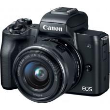 Canon EOS M50 Black + EF-M 15-45mm IS STM Black