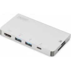 Digitus USB Type-C Multiport Travel Dock 6 Port (DA-70867)