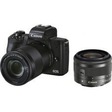 Canon EOS M50 Mark II Double Kit EF-M 15-45mm + EF-M 55-200mm