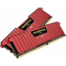 Corsair Vengeance LPX Red 16GB (2x8GB) DDR4 2666MHz CL16 1.20V (CMK16GX4M2A2666C16R)