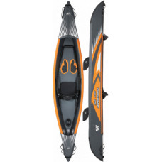 Aqua Marina Tomahawk AIR-K 375 1-person DWF High-end kayak, Double action pump, Zip backpack (paddle excluded) (Air-K 375)