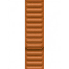 Apple 41mm Golden Brown Leather Link - M/L ML7L3ZM/A