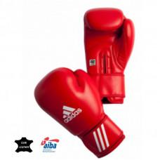 Adidas boksa cimdi ar AIBA apstiprinājumu sarkani - 10 oz