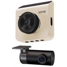 70Mai car DVR A400 + rear view camera RC09, white