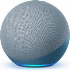Amazon Echo 4, blue/grey