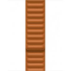 Apple 41mm Golden Brown Leather Link - S/M ML7K3ZM/A