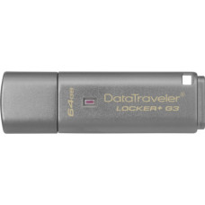 Kingston DataTraveler Locker+ G3 64GB USB3 135/40MBs (DTLPG3/64GB)