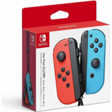 Nintendo Switch Joy-Con Controller Strap Pair - Neon Blue and Neon Red