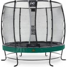 Exit Elegant Premium batuts ø427cm ar Deluxe drošības tīklu - Zaļa