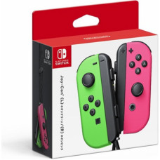 Nintendo Switch Joy-Con Controller Strap Pair - Neon Green and Neon Pink