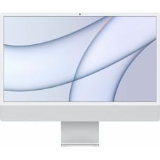 Apple iMac 24 4.5K Retina M1 8C CPU 7C GPU 8GB 256GB SSD Silver INT MGTF3ZE