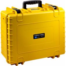 B&W Outdoor Cases Type 6000 YEL (empty)