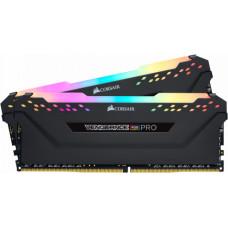 Corsair Vengeance RGB Pro 16GB (2x8GB) DDR4 DRAM 3000MHz C15 Black (CMW16GX4M2C3000C15)