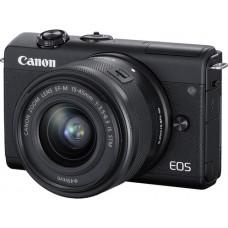 Canon EOS M200 Double Kit EF-M 15-45mm + 55-200mm IS STM Black