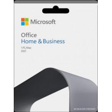 Microsoft SW RET Office Home & Business 1 PC/Mac 2021 H&B/RUS MS (T5D-03543)