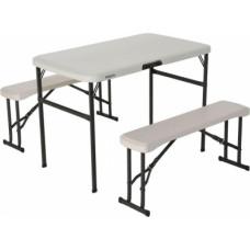 Divu soliņu un galda komplekts 106cm 80352