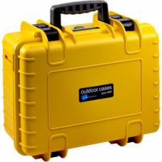 B&W Outdoor Cases Type 4000 YEL (Pre-Cut Foam)