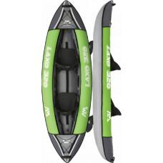 Aqua Marina Laxo-320 Leisure Kayak-2 person. Inflatable deck. Kayak paddle set included. (LA-320)