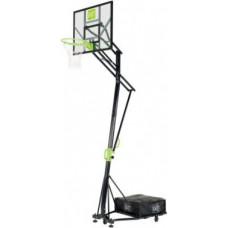 Exit Galaxy pārvietojamais basketbola grozs uz riteņiem - zaļš / melns