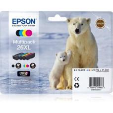 Epson T2636 XL CMYK Claria Multi Pack, XP-600/700/800 (C13T26364010)