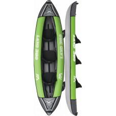 Aqua Marina Laxo-380 Leisure Kayak-3 person. Inflatable deck. Kayak paddle x2. Kayak seat x3 (LA-380)