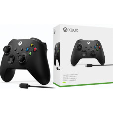 Microsoft Xbox Series Controller Carbon Black + USB-C Cable