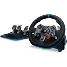 Logitech Spēļu kontrolieris stūre G29 priekš PS3 / PS4 / PC, Logitech