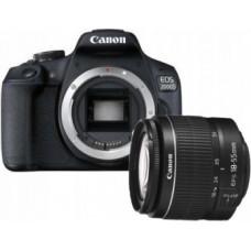 Canon EOS 2000D + 18-55 DC III , Canon, Aparaty cyfrowe: lustrzanki