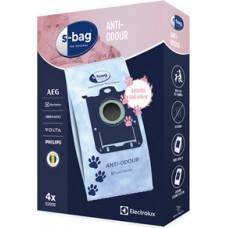 Electrolux Putekļu maisiņi S-bag Anti-Odour, Electrolux / 4 gab.