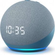 Amazon Echo Dot 4 Clock, twilight blue