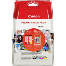 Canon ink + photo paper Photo Value Pack CLI-571XL, black/color