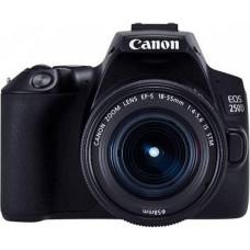 Canon EOS 250D + 18-55 DC III , Canon, Aparaty cyfrowe: lustrzanki