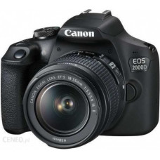 Canon EOS 2000D + 18-55 IS II , Canon, Aparaty cyfrowe: lustrzanki